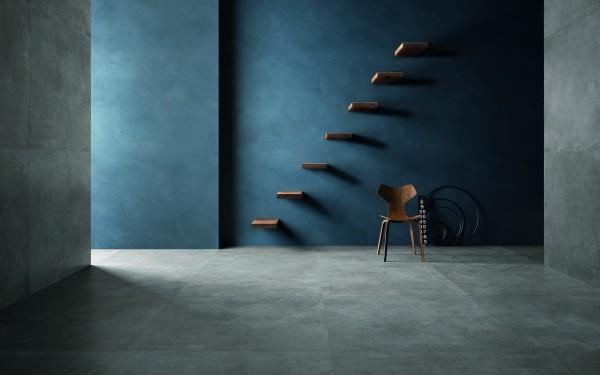 Feinsteinzeug Fliese SET Concrete 60 x 60 cm