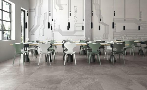 Feinsteinzeug Fliese Shadestone Grey 60 x 60 cm