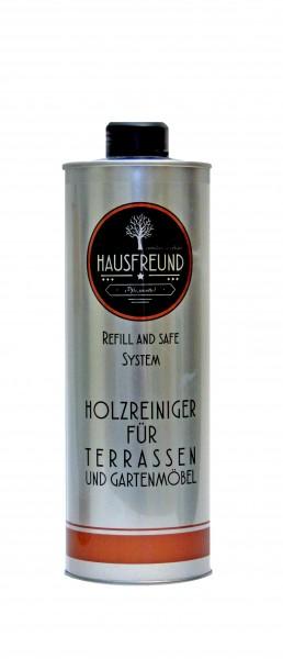 Hausfreund Holzreiniger für Terrassen und Gartenmöbel, 1 Liter