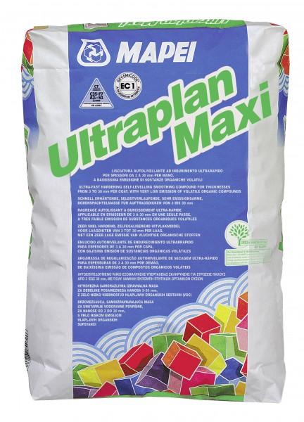 Mapei Ultraplan Maxi grau 25 kg selbstverlaufende Bodenspachtelmasse 3-40mm