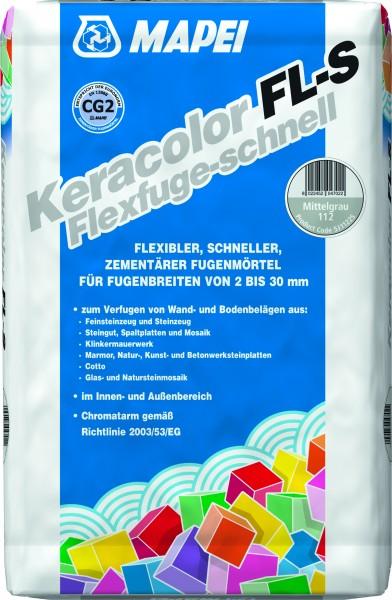 Mapei Fugenm. Keracolor FL-S 113 zementgrau 25kg-Geb.