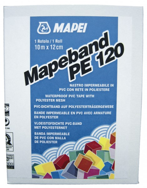 Mapei Mapeband PE120 Wandmanschette 120x120mm