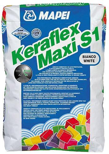 Mapei Keraflex Maxi S1 grau 25 kg-Geb. Dünn- und Mittelbettklebemörtel