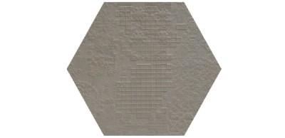 déchirer decor esagona grigio