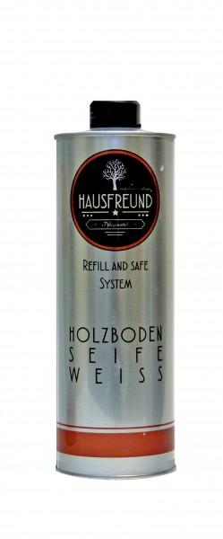 Hausfreund Holzbodenseife Weiss 1 Liter