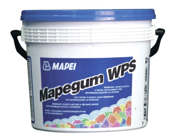 Mapei Mapegum WPS Einkomp. schnell trocknende Flächenabdichtung auf Dispersionsbasis